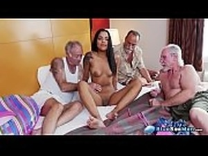 Hopeless Latina Nikki Kay Naked For Old Geezers
