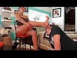 Foot Licking Worship Hot Mistress