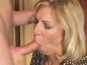 Lustful mom Debbie Lien is brutally screwed by horny young stud