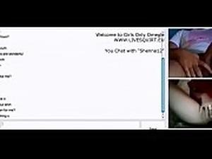 Australian Teen Girl Masturbation on Webcam Omegle Livesquirt