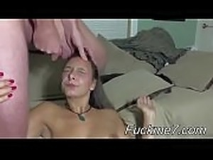 Perfect MILF Creampied During Her Audition