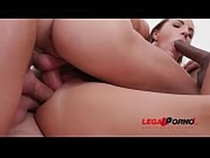 Kristy Black 5on1 fuck session with DP, DAP, DVP &amp_ triple penetration SZ2074