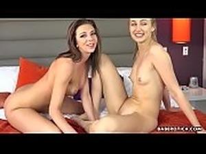 Hot girl, Alexa Grace eats Tiffany Watson&#039_s pussy, in 4K