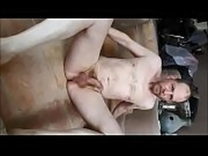 Amateur guy Jim Hill stripping